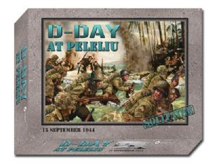 D-Day At Peleliu (Small box rip on bottom of box)